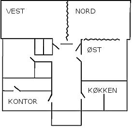 Et oversigtskort over Vorbasse sognehus.