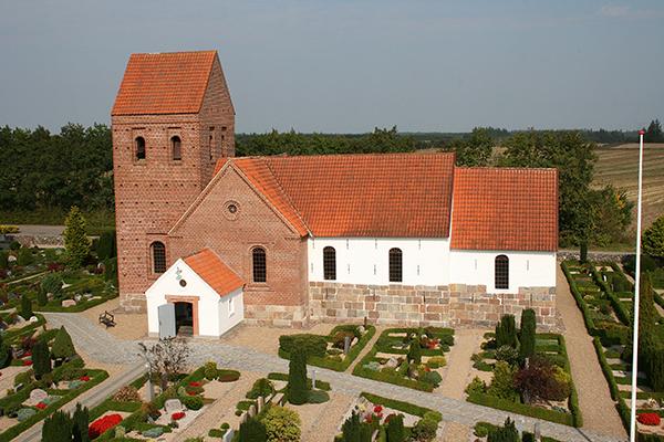 Foto af Vorbasse kirke