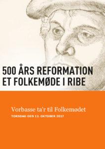 Stregtegning af Luther, med underteksten: Vorbasse ta'r til Folkemødet